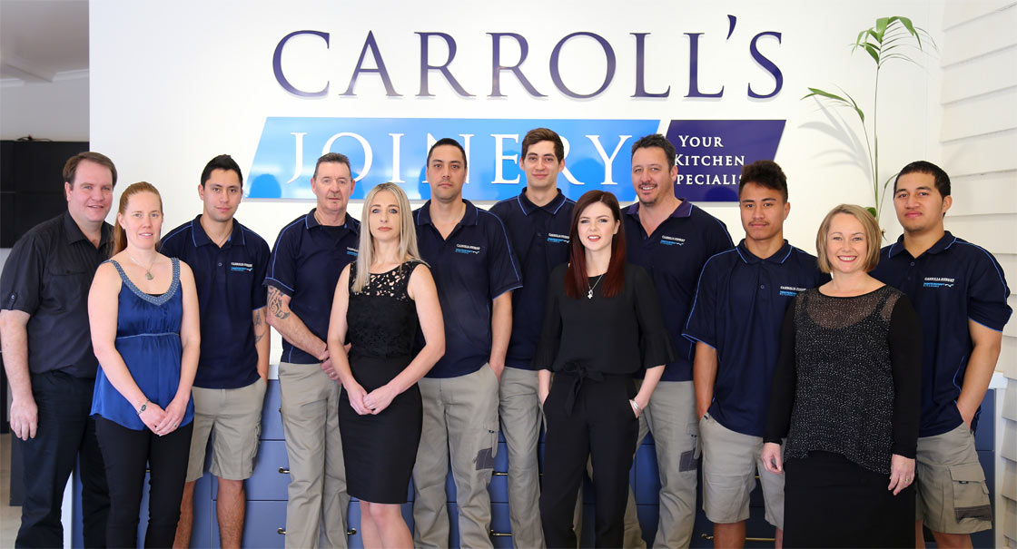 The Carroll's Joinery Team