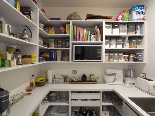 Butler's Pantry with Clever Storage